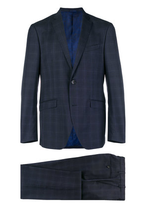 Etro two-piece check suit - Blue