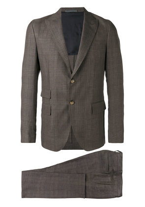 Eleventy Abi two-piece suit - Brown