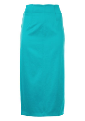 H Beauty & Youth mid-length pencil skirt - Blue