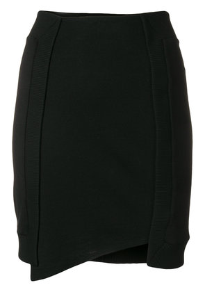 Paco Rabanne asymmetric mini skirt - Black