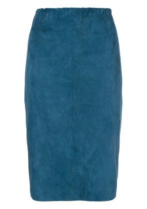 Stouls Gilda pencil skirt - Blue