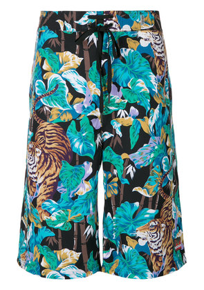 Kenzo tiger print swimming trunks - Multicolour