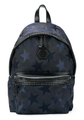 Philipp Plein People You Leve backpack - Blue