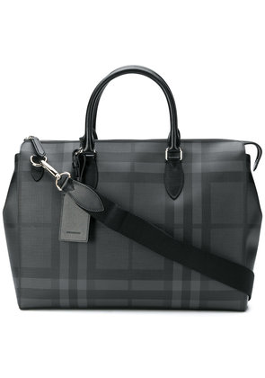 Burberry London Check briefcase - Black