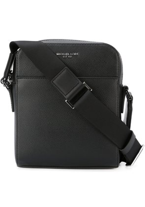 Michael Kors Collection zip up shoulder bag - Black