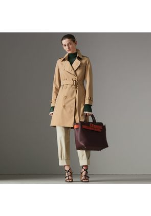 Burberry The Kensington Heritage Trench Coat, Size: 08, Beige