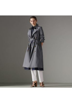 Burberry The Long Kensington Heritage Trench Coat, Size: 08, Grey