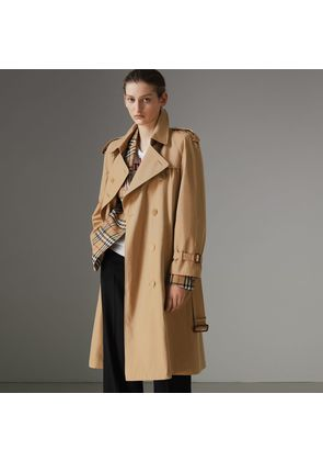 Burberry The Westminster Heritage Trench Coat, Size: 04, Beige