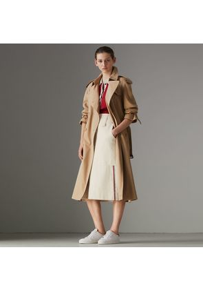 Burberry The Long Westminster Heritage Trench Coat, Size: 06, Beige