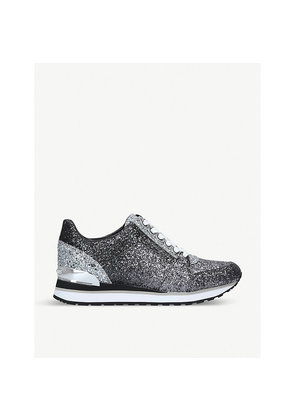 Billie glitter-embellished low-top trainers