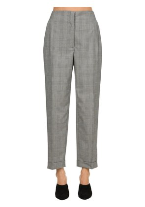 WOOL PRINCE OF WALES PANTS