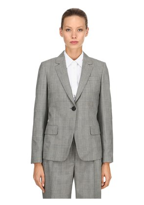 WOOL PRINCE OF WALES BLAZER