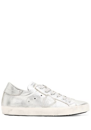 PARIS LEATHER SNEAKERS