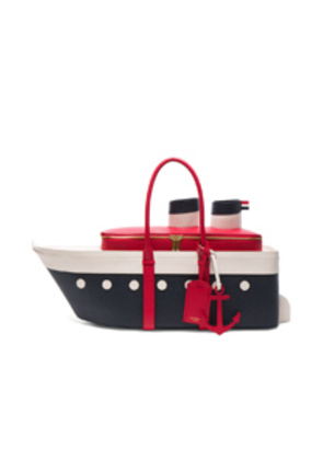 Thom Browne Cruise Liner Bag in Blue,White,Red