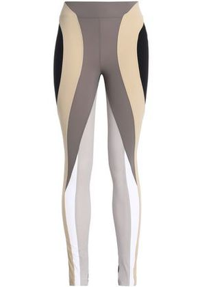 No Ka 'oi Woman Color-block Stretch Leggings Multicolor Size 2