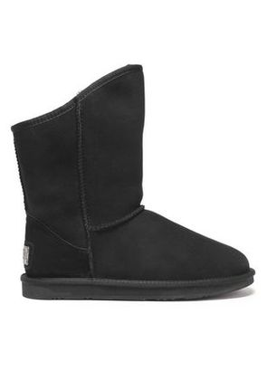 Australia Luxe Collective Woman Shearling Boots Black Size 6