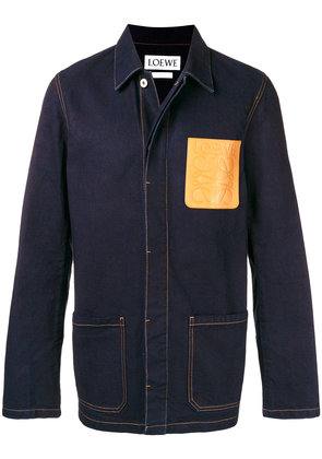 Loewe denim workwear jacket - Blue