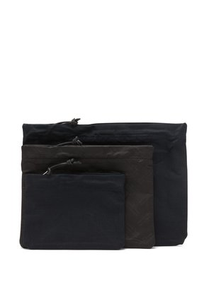 Three pack of four-stitch pouches