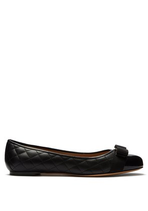 Varina quilted-leather ballet flats
