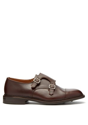 Rufus monk-strap leather shoes