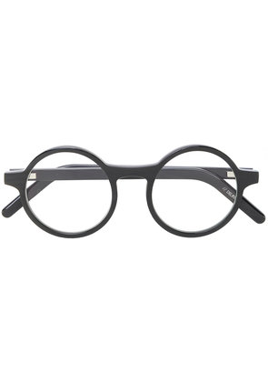Delirious round frame glasses - Brown