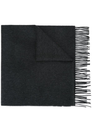 Gieves & Hawkes classic scarf - Grey