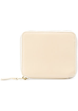 Comme Des Garçons Wallet zip around classic leather line wallet - Nude