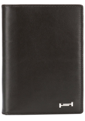 Tod's elongated foldable wallet - Brown