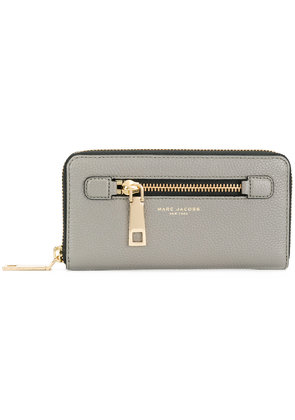 Marc Jacobs Gotham standard continental wallet - Grey