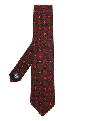 Gieves & Hawkes embroidered tie