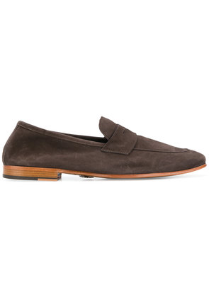 Andrea Ventura penny loafers - Brown