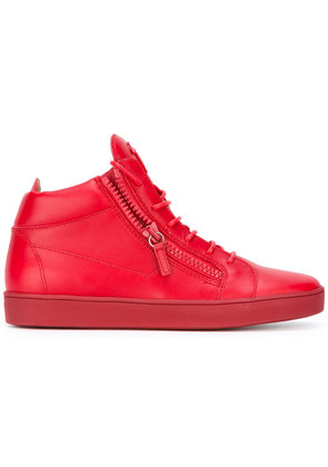 Giuseppe Zanotti Design Keith trainers - Red