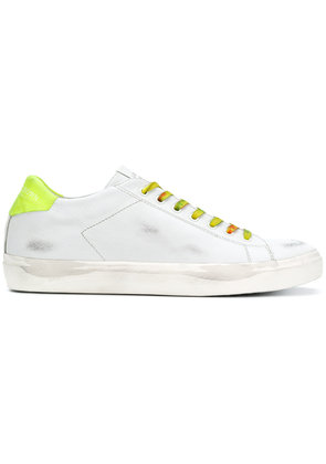 Leather Crown Cervo sneakers - White
