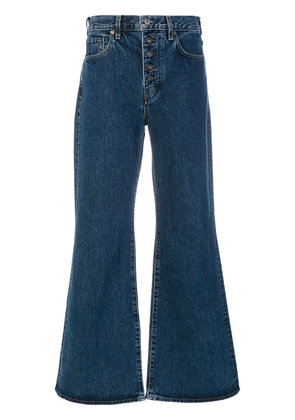 Levi's: Made & Crafted classic wide-leg jeans - Blue