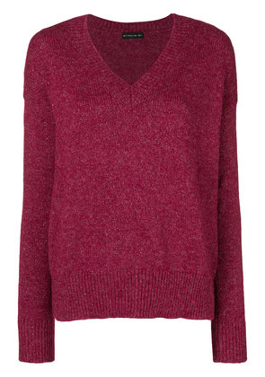 Etro loose fitted jumper - Red