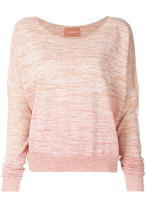 Zadig & Voltaire dropped shoulder sweater - Pink & Purple