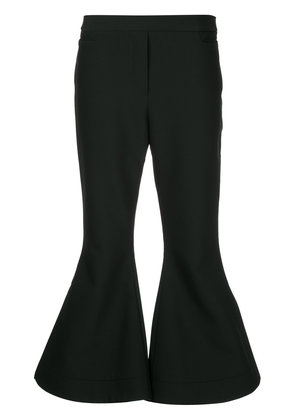 Ellery Federico cropped flared trousers - Black