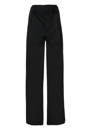 Y / Project double waist trousers - Black