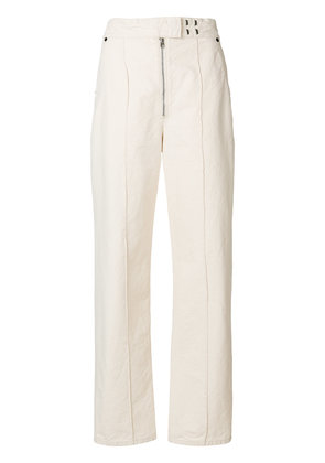 Isabel Marant Nuk high-waisted trousers - Nude & Neutrals