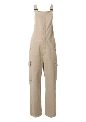 See By Chloé denim overalls - Nude & Neutrals