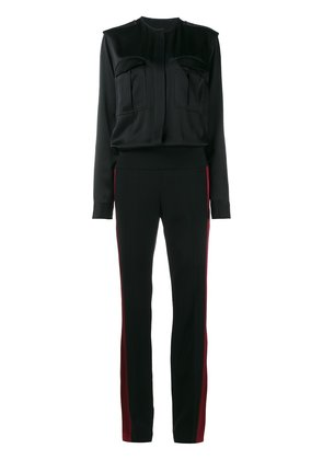 Haider Ackermann side stripe jumpsuit - Black