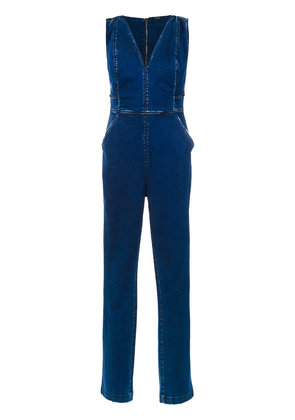 Tufi Duek slim fit denim jumpsuit - Blue