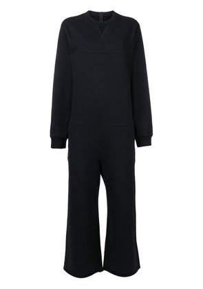 Mm6 Maison Margiela sweat jumpsuit - Black
