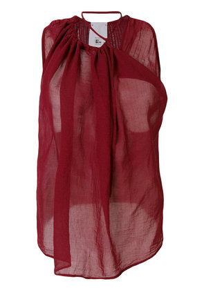 Lost & Found Rooms draped tank top - Red