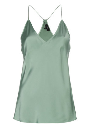 Theory fitted camisole top - Green