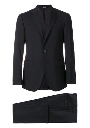Lanvin single breasted two-piece suit - Black