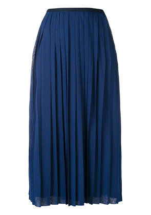 See By Chloé pleated mid-length skirt - Blue