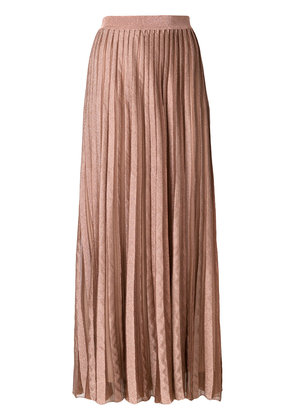 Antonino Valenti long pleated skirt - Nude & Neutrals