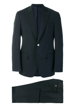 Dell'oglio straight-fit formal suit - Blue