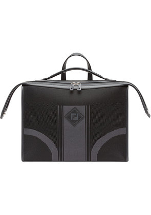 Fendi logo briefcase - Black